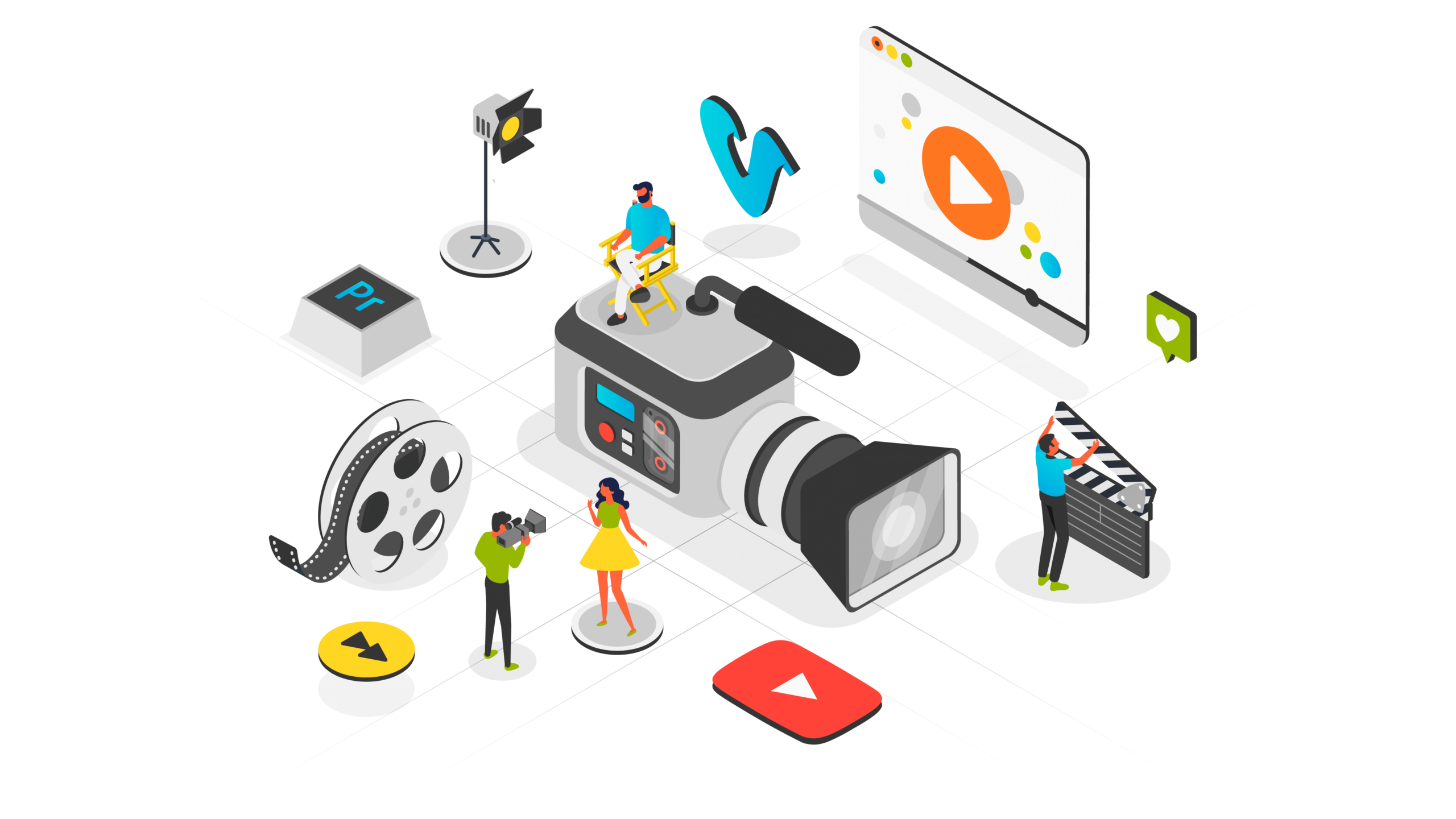 video animation production